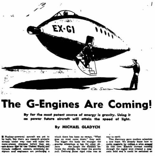 The G-Engines are Coming!